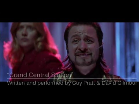 Guy Pratt & David Gilmour - Grand Central Station (from Hackers, 1995)