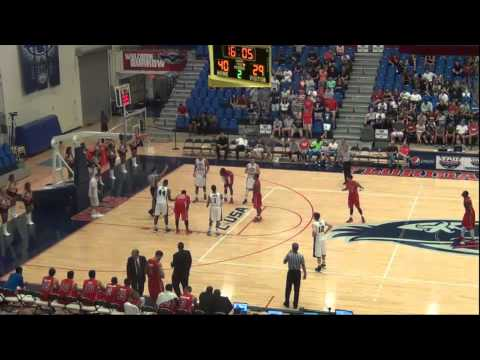 FAU vs St Francis 2013 Basketball