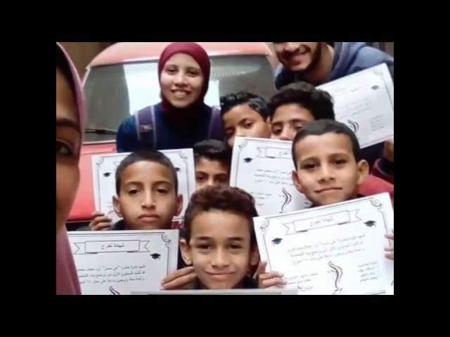 Heya Masr first boys class graduation!