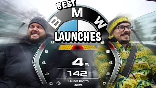 Best BMW LAUNCH CONTROL Reactions