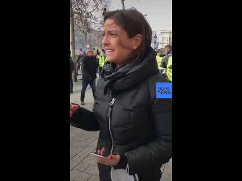 Reporting from the Champs-Élysées, Paris at Gilet Jaunes protests |