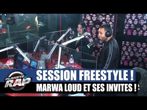 Youtube: Marwa Loud – Session freestyle avec Mister You & ISK! #PlanèteRap