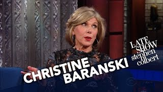 Christine Baranski's Easiest Role Ever? Acting Displeased With Trump.