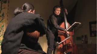 """Hiroshi YOSHINO (bass) Yuji TSUNEMI (oud) Duo ; """"Samaai Darij Hijaz"""""""