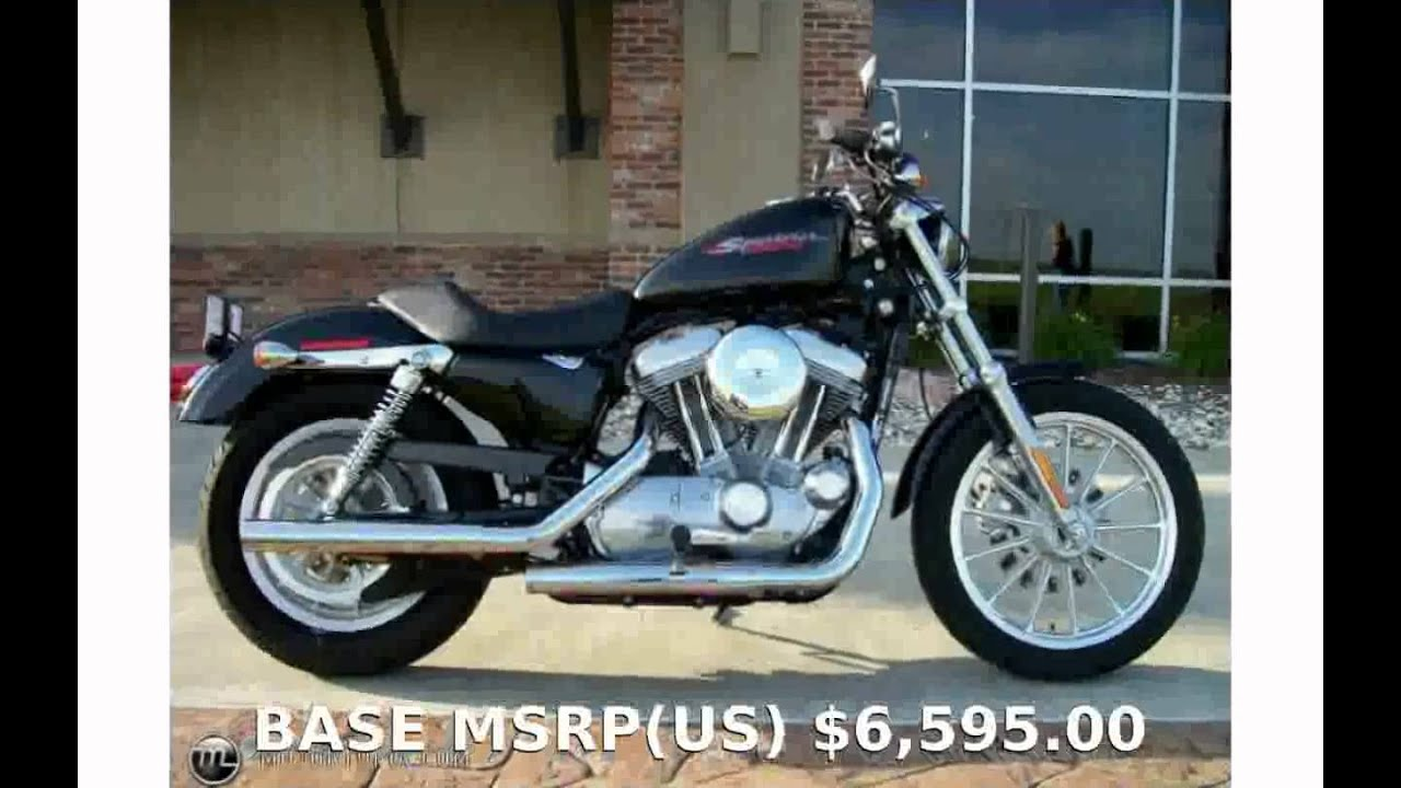 2006 Harley-Davidson Sportster 883 - Review & Info - YouTube