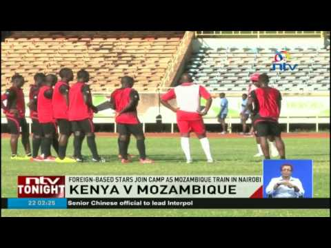 Kenya V Mozambique: Foreign-based stars join camp as Mozambique train in Nairobi