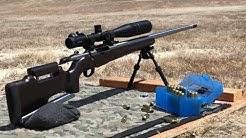 Custom Tikka 7mm Winchester Short Mag Hammers 550 Yard Plate!