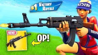 Infinite Lists gets 2 BACK TO BACK WINS With *NEW* Heavy AR (Fortnite)