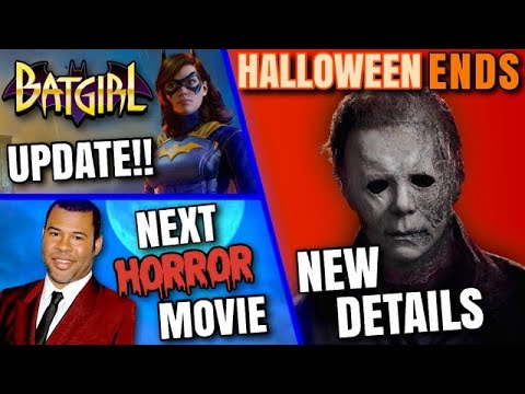 Download Jordan Peele's NOPE , Halloween Ends, Batgirl & MORE!!