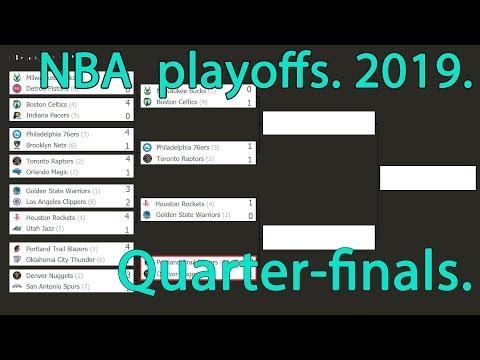 nba-playoffs-2019.-quarter-finals.-schedule.-scores.-bracket.