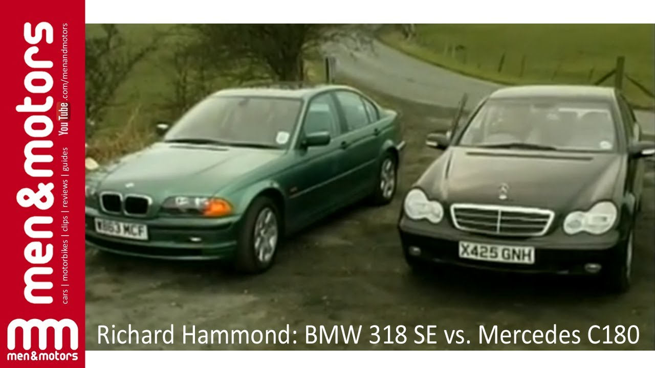 Richard Hammond Bmw 318 Se Vs Mercedes C180 Youtube