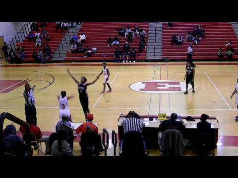Detroit West Side Academy Girls Basketball at Ecorse High 2017-18