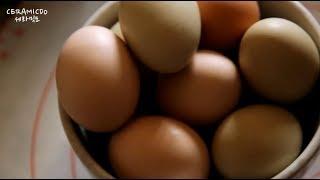 에어프라이어 요리, 에어프라이어 맥반석 계란 만드는 법…