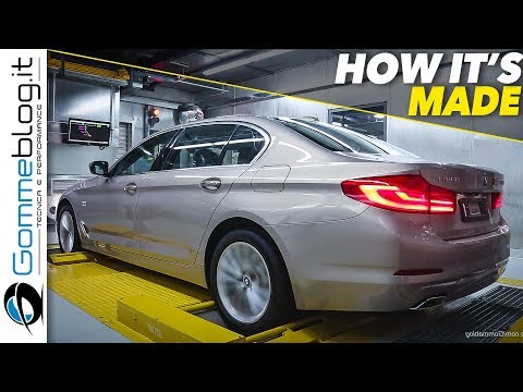 2018 BMW 5 Series CAR FACTORY - HOW ITS MADE Manufactory Assembly