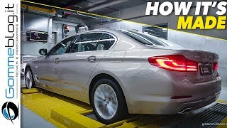 BMW 7 series manufacturing process