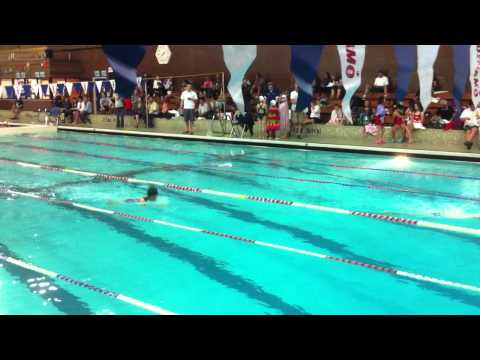 100m Breast Final 11yo Girls