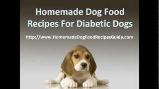 Homemade Dog Food Recipes Diabetic Dogs