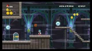 New Super Mario Bros. Wii - Star Coin Location Guide - World 4-Ghost House (fixed) | WikiGameGuides