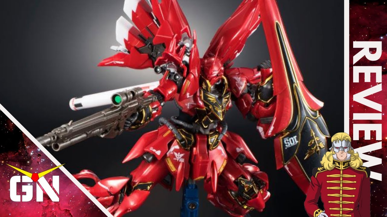 Some Say This Is The WORST RG Ever???? RG 1/144 Sinanju Metallic Gloss Injection GBT | REVIEW