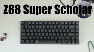 "E-Elements Z88 ""The Super Scholar"" budget mechanical keyboard unboxing and review"