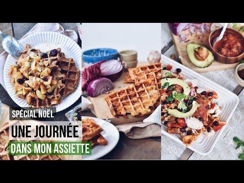 what-i-eat-in-a-day---une-journÉe-dans-mon-assiette-#7- -100%-gaufres-et-anti-gaspillage
