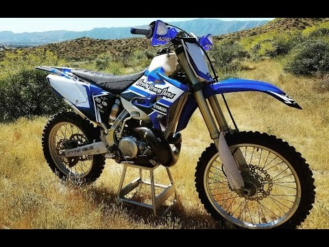 MY NEW YAMAHA YZ 250!