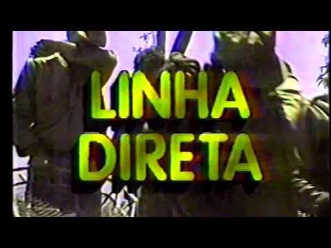 Chamada: Linha Direta - Rede Globo (29/03/1990)