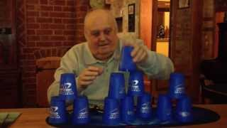 80 Year Old Attempts Speed Stacking World Record