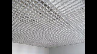 видео Решетчатый потолок
