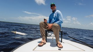 A Sanibel fishing guide struggles with the red tide affecting Southwest Florida