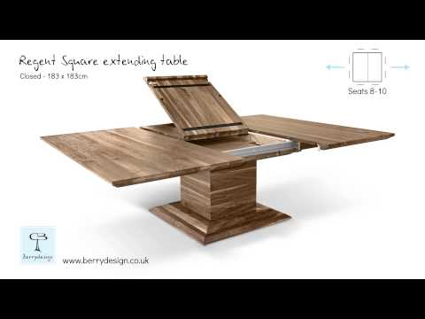 Youtube By Square Mechanism Extending Berrydesign Table Regent mN0Ow8nyv