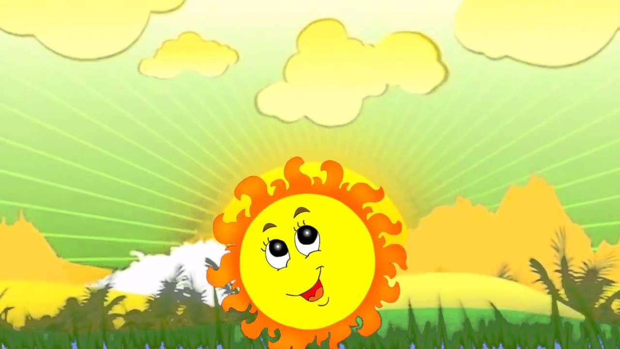 Солнышко, Солнышко, Выходи Музыкальный мультик для малышей - YouTube