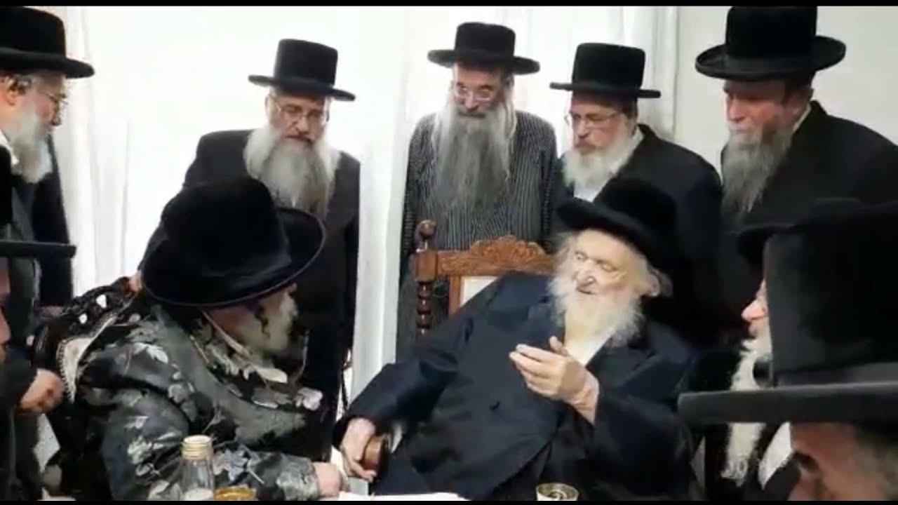 Viznitzer Rebbe Visits Ravad Yerushalayim R' Moshe Sternbuch - Iyar 5781