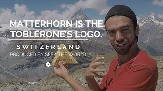 Switzerland's Toblerone Logo - Matterhorn Mountain & Hidden Bear.