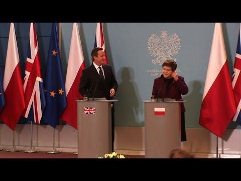 Poland, Britain clash on welfare benefits amid EU reform talks