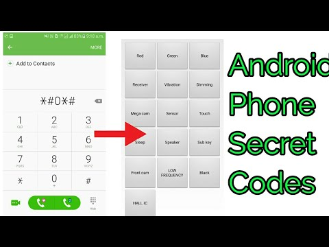 Android phone secret codes ,samsung codes android tips & tricks