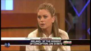 Supermodel Kathy Ireland tells Mike Huckabee why she became pro-life.