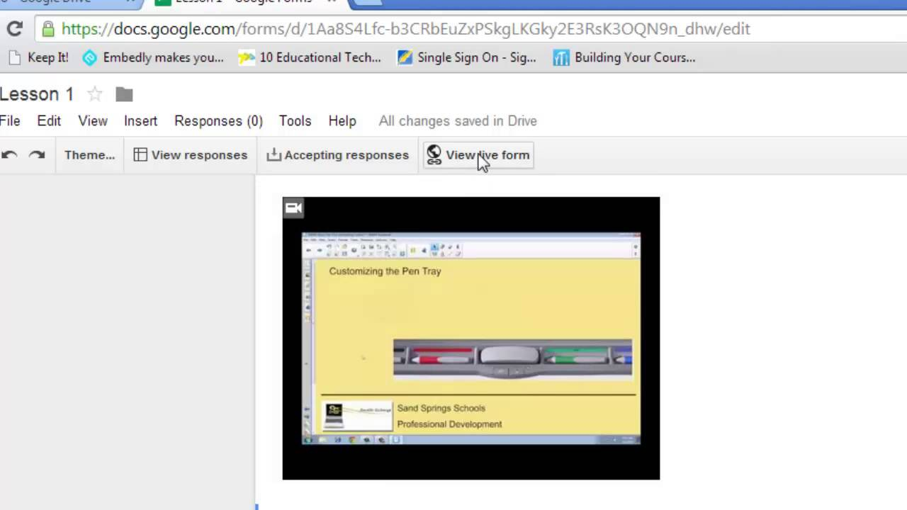 Flip the Classroom with Google Forms and Youtube - YouTube