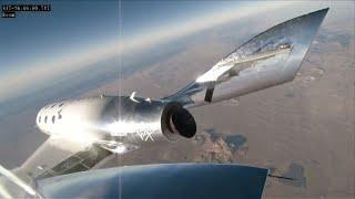 Foguete da Virgin Galactic cruza fronteiras do espaço