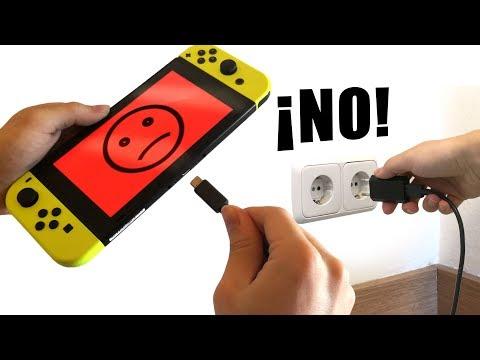 15 errores que acortan la vida de tu Nintendo SWITCH ⚠️