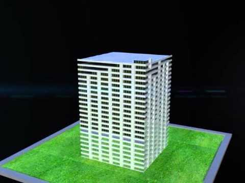 Animasi Pembangunan Gedung.avi - YouTube