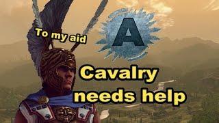 Total War ARENA: Cavalry needs help