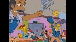 The Simpsons - War At The Food Store And Obsessions From Hallucinatio!ns