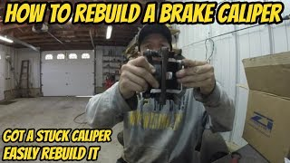 How To Rebuild A Rear Brake Caliper (350z)