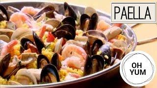 Lakeside paella | oh yum with anna olson