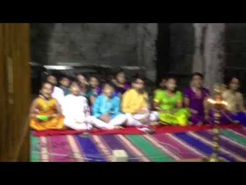 Bharath Vishnu song in temple 15