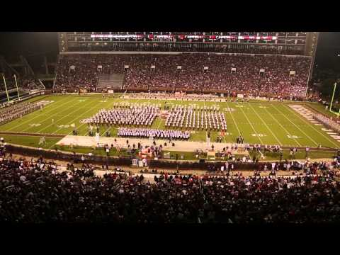 Patriotic Halftime Show, Famous Maroon Band (11/16/13)