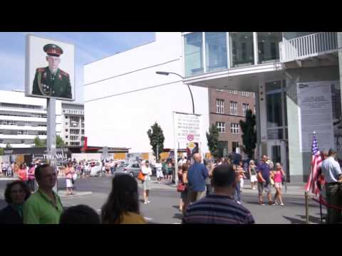 Checkpoint Charlie Berlin: The tourist attraction [HD]