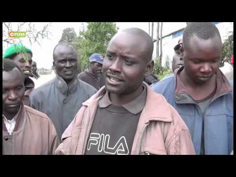 Pokot Demo Against Chinese Company