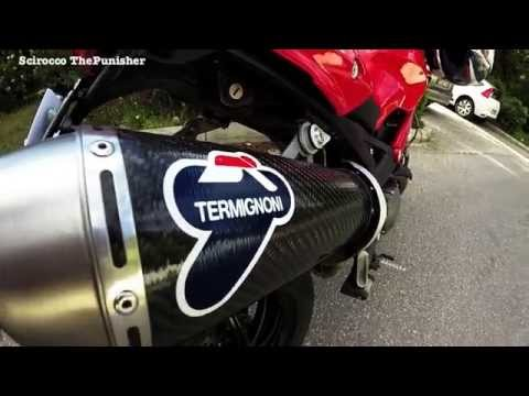 Ducati Monster 796 Termignoni Exhaust [HD]